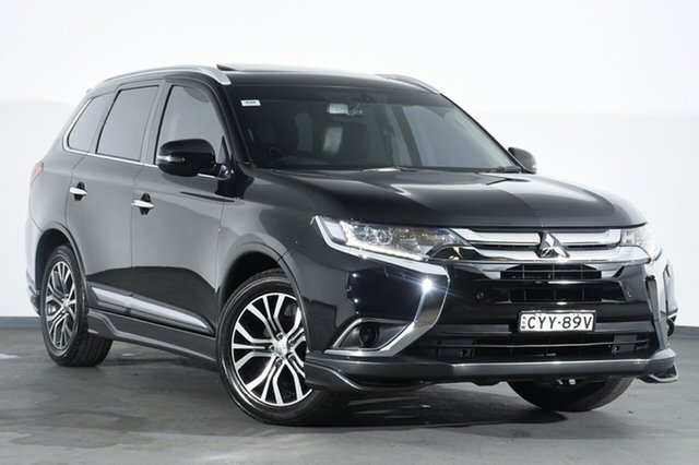 Discounted Used Mitsubishi Outlander Exceed 4WD, Campbelltown, 2015 Mitsubishi Outlander Exceed 4WD SUV