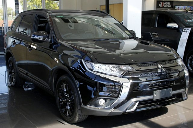 Demonstrator, Demo, Near New Mitsubishi Outlander Black Edition 2WD, Toowong, 2018 Mitsubishi Outlander Black Edition 2WD Wagon
