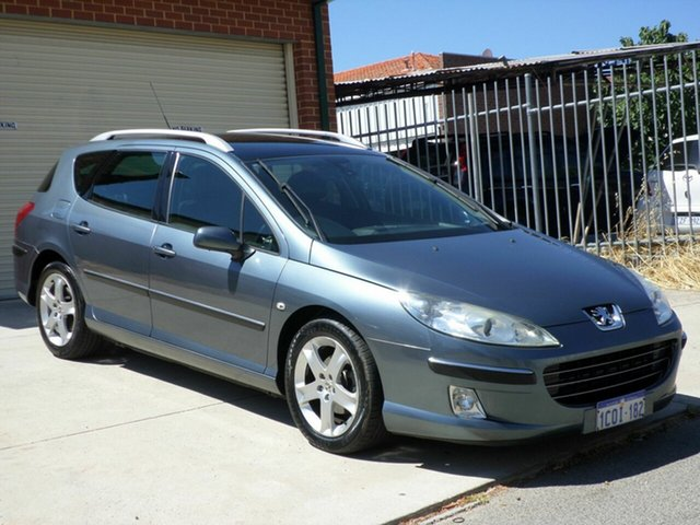 Used Peugeot 407 ST HDi Touring, Mount Lawley, 2007 Peugeot 407 ST HDi Touring Wagon
