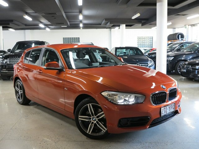 Used BMW 118i Sport Line Steptronic, Albion, 2016 BMW 118i Sport Line Steptronic Hatchback