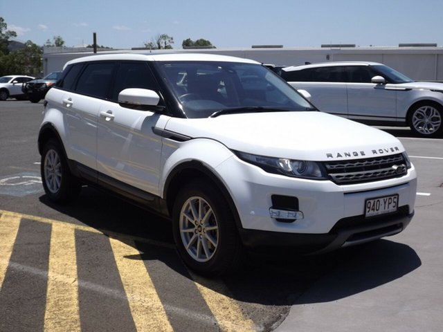 Used Land Rover Range Rover Evoque ED4 Pure, Toowoomba, 2012 Land Rover Range Rover Evoque ED4 Pure Wagon