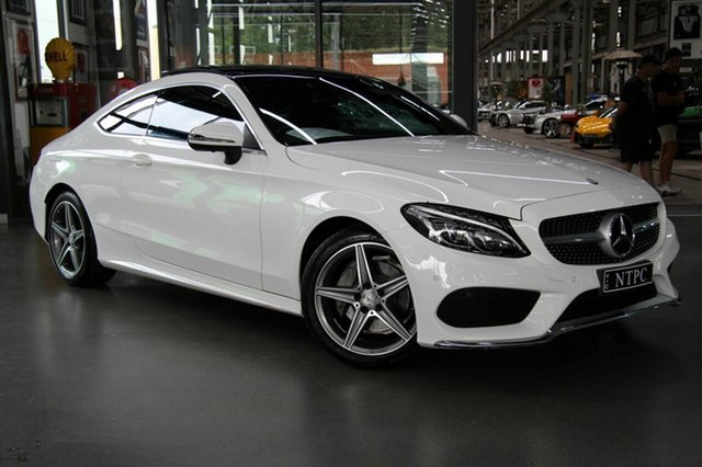 Used Mercedes-Benz C200 7G-Tronic +, North Melbourne, 2016 Mercedes-Benz C200 7G-Tronic + Coupe