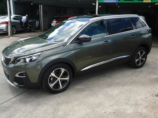 New Peugeot 5008 GT Line, Nambour, 2018 Peugeot 5008 GT Line MY18 Wagon