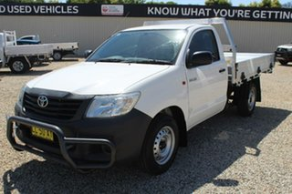 2014 Toyota Hilux Workmate Cab Chassis.
