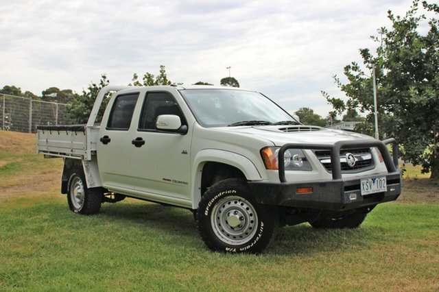 Used Holden Colorado LX Crew Cab, Officer, 2010 Holden Colorado LX Crew Cab Cab Chassis