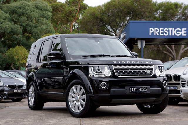 Used Land Rover Discovery TDV6, Balwyn, 2015 Land Rover Discovery TDV6 Wagon