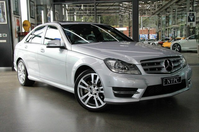 Used Mercedes-Benz C200 Avantgarde 7G-Tronic +, North Melbourne, 2013 Mercedes-Benz C200 Avantgarde 7G-Tronic + Sedan