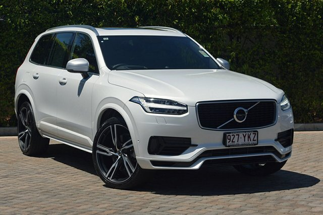 Demonstrator, Demo, Near New Volvo XC90 T8 Geartronic AWD R-Design, Warwick Farm, 2018 Volvo XC90 T8 Geartronic AWD R-Design Wagon