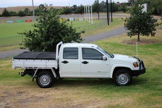 2010 Holden Colorado LX Crew Cab Cab Chassis.