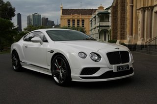 2016 Bentley Continental GT Speed Coupe.