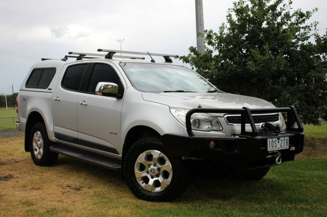 Used Holden Colorado LTZ Crew Cab, Officer, 2012 Holden Colorado LTZ Crew Cab Utility