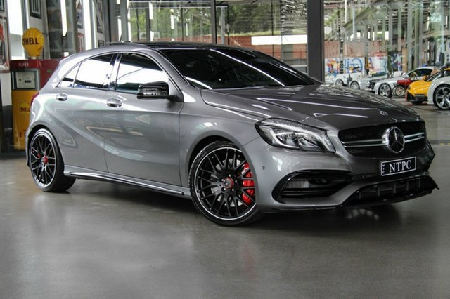 Used Mercedes-Benz A45 AMG SPEEDSHIFT DCT 4MATIC, North Melbourne, 2018 Mercedes-Benz A45 AMG SPEEDSHIFT DCT 4MATIC Hatchback