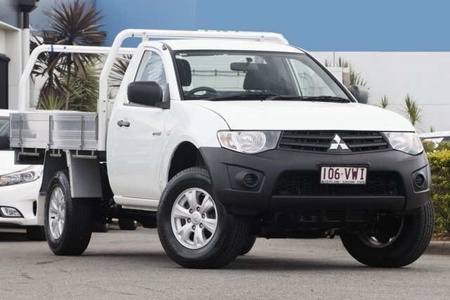 Used Mitsubishi Triton GL 4x2, Bowen Hills, 2015 Mitsubishi Triton GL 4x2 Cab Chassis