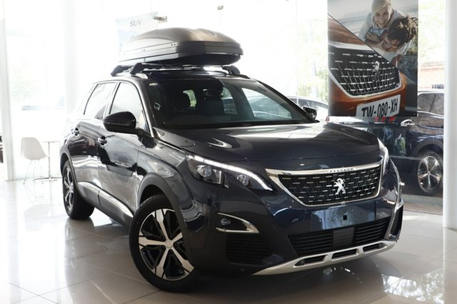 Demonstrator, Demo, Near New Peugeot 5008 GT Line, Artarmon, 2018 Peugeot 5008 GT Line Wagon