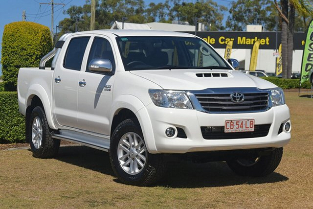 Discounted Used Toyota Hilux SR5 Double Cab, Southport, 2014 Toyota Hilux SR5 Double Cab Utility