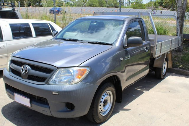 Used Toyota Hilux Workmate 4x2, Underwood, 2008 Toyota Hilux Workmate 4x2 Cab Chassis