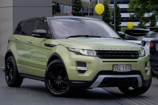 Used Land Rover Range Rover Evoque SD4 CommandShift Dynamic, Newstead, 2013 Land Rover Range Rover Evoque SD4 CommandShift Dynamic Wagon