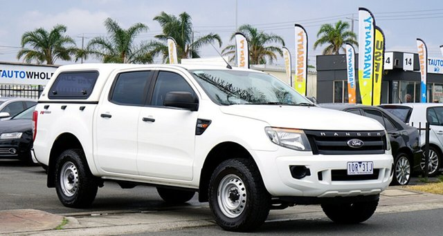 Used Ford Ranger XL Double Cab 4x2 Hi-Rider, Cheltenham, 2014 Ford Ranger XL Double Cab 4x2 Hi-Rider Utility