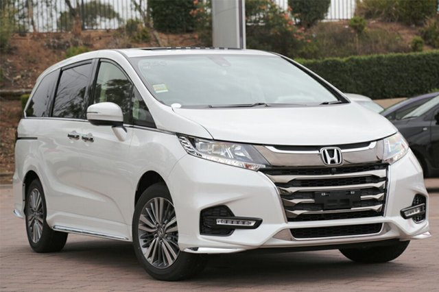 Discounted Demonstrator, Demo, Near New Honda Odyssey VTi-L, Warwick Farm, 2018 Honda Odyssey VTi-L Wagon