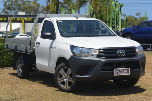 Discounted Used Toyota Hilux Workmate 4x2, Southport, 2016 Toyota Hilux Workmate 4x2 Cab Chassis