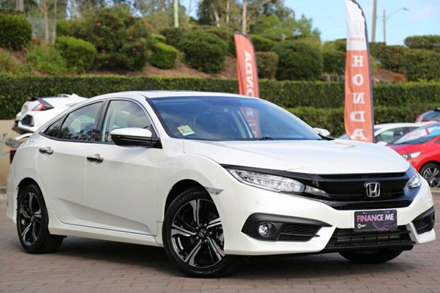 Discounted Demonstrator, Demo, Near New Honda Civic RS, Southport, 2018 Honda Civic RS Sedan