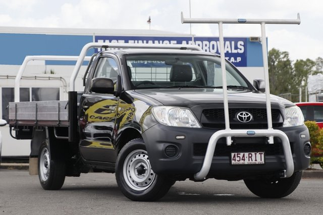 Used Toyota Hilux Workmate 4x2, Bowen Hills, 2010 Toyota Hilux Workmate 4x2 Cab Chassis