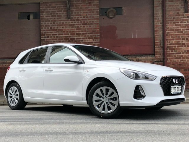 Demonstrator, Demo, Near New Hyundai i30 Go, Cheltenham, 2018 Hyundai i30 Go Hatchback