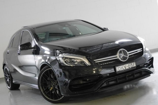 Used Mercedes-Benz A45 AMG SPEEDSHIFT DCT 4MATIC, Warwick Farm, 2016 Mercedes-Benz A45 AMG SPEEDSHIFT DCT 4MATIC Hatchback