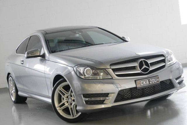 Used Mercedes-Benz C250 7G-Tronic +, Warwick Farm, 2013 Mercedes-Benz C250 7G-Tronic + Coupe