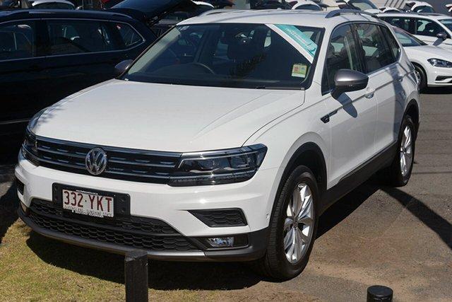 Demonstrator, Demo, Near New Volkswagen Tiguan 110TDI DSG 4MOTION Comfortline, Southport, 2018 Volkswagen Tiguan 110TDI DSG 4MOTION Comfortline Wagon