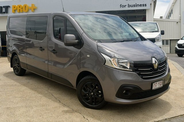 Discounted Demonstrator, Demo, Near New Renault Trafic Crew Low Roof LWB Lifestyle, Warwick Farm, 2018 Renault Trafic Crew Low Roof LWB Lifestyle Van