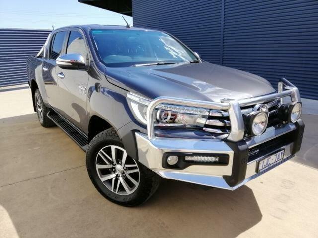 Used Toyota Hilux SR5 (4x4), Wangaratta, 2017 Toyota Hilux SR5 (4x4) Dual Cab Utility