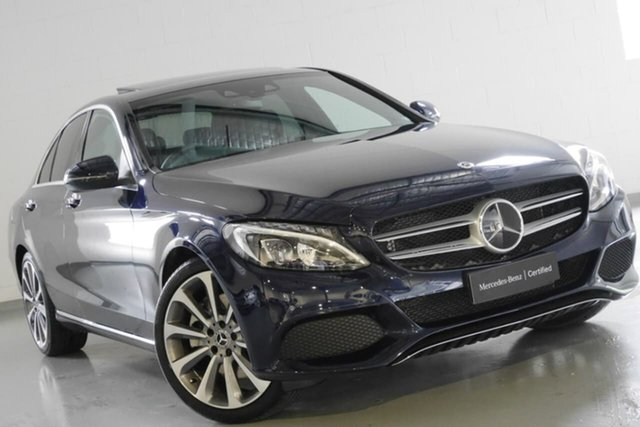 Used Mercedes-Benz C300 9G-Tronic, Warwick Farm, 2017 Mercedes-Benz C300 9G-Tronic Sedan