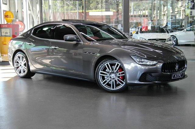 Used Maserati Ghibli S, North Melbourne, 2014 Maserati Ghibli S Sedan