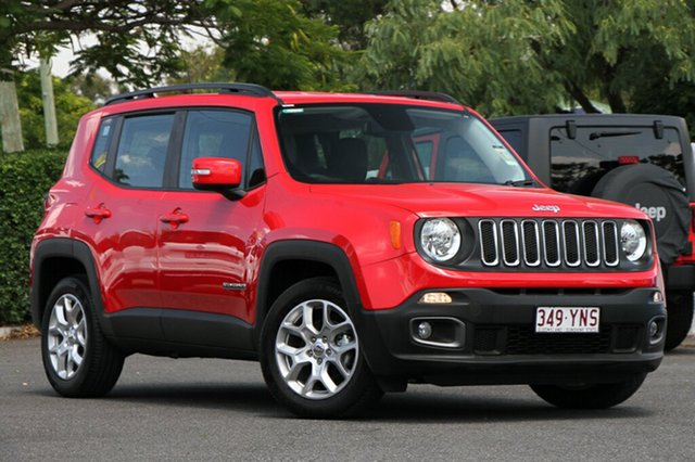 Demonstrator, Demo, Near New Jeep Renegade Longitude DDCT, Indooroopilly, 2017 Jeep Renegade Longitude DDCT Hatchback