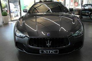 2014 Maserati Ghibli S Sedan.