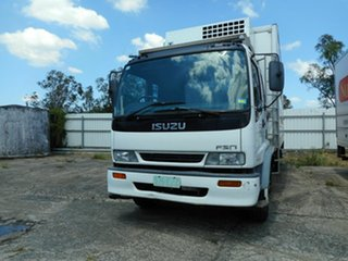1999 Isuzu FSR Refrigerated Truck.