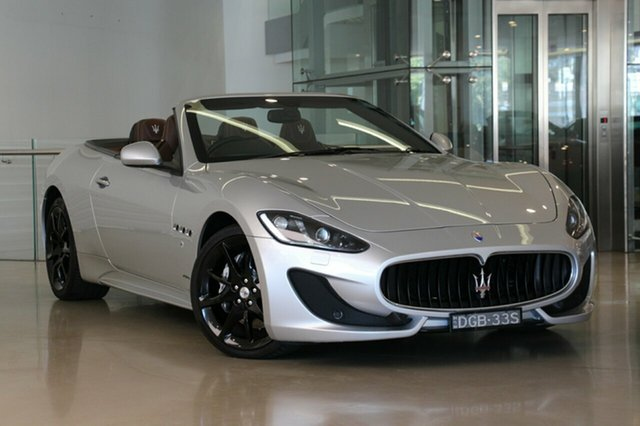 Used Maserati GranCabrio Sport MC-Shift, Waterloo, 2016 Maserati GranCabrio Sport MC-Shift Cabriolet