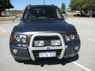 2006 Mitsubishi Pajero VR-X Wagon.
