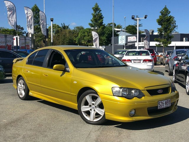 Used Ford Falcon XR6 Turbo, Greenslopes, 2003 Ford Falcon XR6 Turbo Sedan