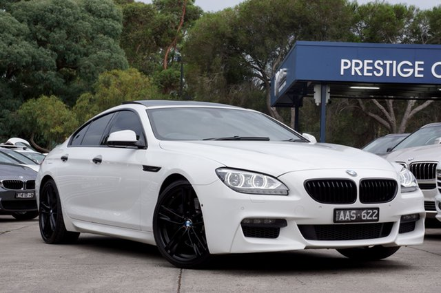 Used BMW 640i Gran Coupe Steptronic, Balwyn, 2013 BMW 640i Gran Coupe Steptronic Sedan