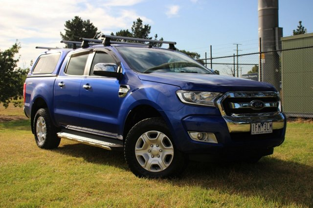 Used Ford Ranger XLT Double Cab 4x2 Hi-Rider, Officer, 2015 Ford Ranger XLT Double Cab 4x2 Hi-Rider Utility