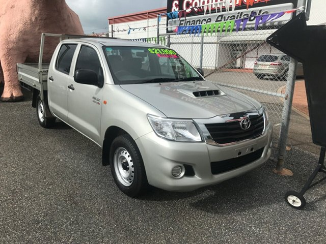 Used Toyota Hilux SR Double Cab 4x2, Winnellie, 2015 Toyota Hilux SR Double Cab 4x2 Utility
