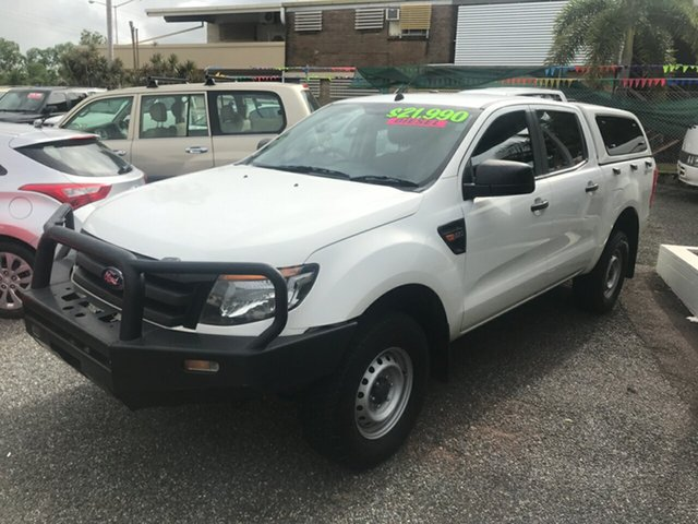 Used Ford Ranger XL Double Cab 4x2 Hi-Rider, Winnellie, 2015 Ford Ranger XL Double Cab 4x2 Hi-Rider Cab Chassis