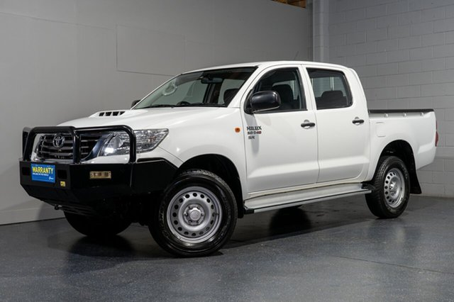 Used Toyota Hilux SR (4x4), Slacks Creek, 2014 Toyota Hilux SR (4x4) Dual Cab Pick-up