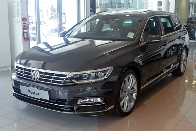 Demonstrator, Demo, Near New Volkswagen Passat 206TSI DSG 4MOTION R-Line, Southport, 2018 Volkswagen Passat 206TSI DSG 4MOTION R-Line Wagon