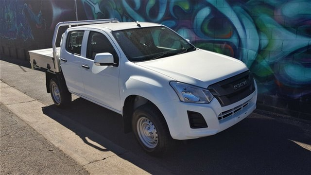 Demonstrator, Demo, Near New Isuzu D-MAX SX Crew Cab 4x2 High Ride, Wayville, 2018 Isuzu D-MAX SX Crew Cab 4x2 High Ride Cab Chassis