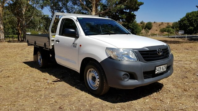 Used Toyota Hilux Workmate 4x2, Tanunda, 2013 Toyota Hilux Workmate 4x2 Cab Chassis