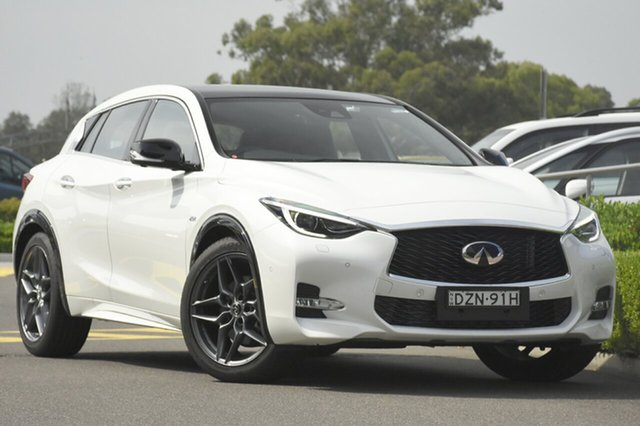 Discounted Demonstrator, Demo, Near New Infiniti Q30 Sport Premium D-CT, Warwick Farm, 2018 Infiniti Q30 Sport Premium D-CT Wagon