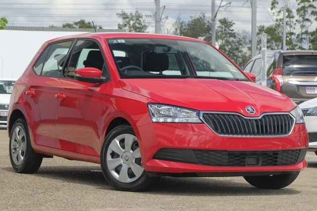 Demonstrator, Demo, Near New Skoda Fabia 70TSI, Bowen Hills, 2018 Skoda Fabia 70TSI Hatchback